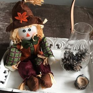Other - NWOT Scarecrow Fall Decor (arms are bendable)